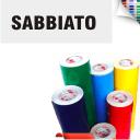 Scritte Adesive Prespaziate da intaglio Sabbiato
