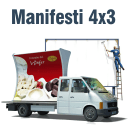 Manifesti 4x3 - carta BlueBack