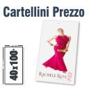Cartellini prezzo 40 x 100
