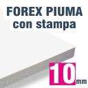 Pannello Lastra Piuma 10 mm stampato