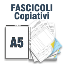 Fascicoli Copiativi A5 a 2 Copie a colori solo fronte