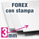 Pannello Forex 3 mm stampato