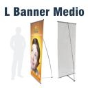 L Banner medium 80x200 cm