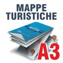 Mappe Turistiche A3 Orizzontale 135 gr