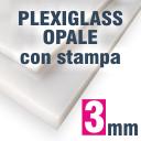 Pannello plexiglass Opale 3 mm stampato