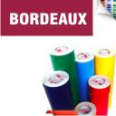 Scritte Adesive Prespaziate da intaglio Bordeaux